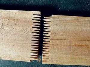 实木家具接齿