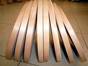 新型科技木皮粘接