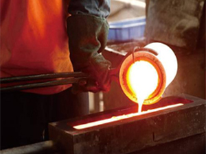 高温铸造的模具
