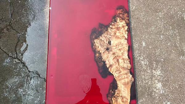 家具厂河流桌树脂胶水解决方案
