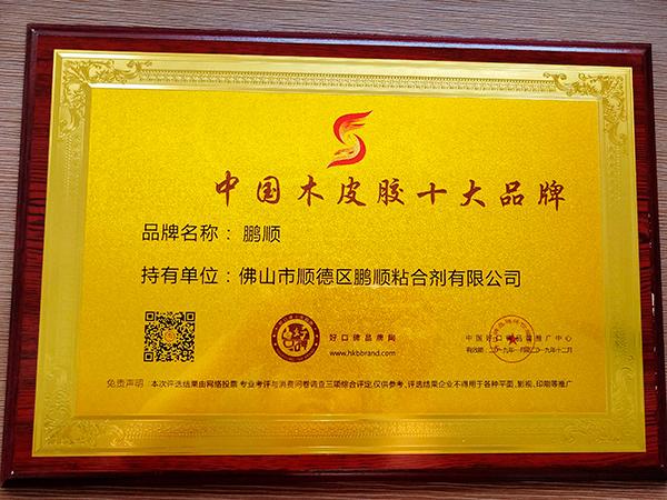 中国木皮胶十大品牌